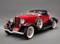 1932 Auburn 8-100 A Speedster, Auburn Automobile Company, Indiana