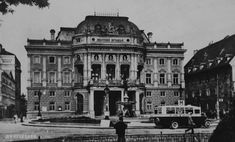 Bratislava, Central Europe, Louvre, Building, Travel, Times, Nostalgia, Viajes, Buildings