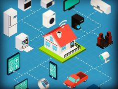 #IoT #internetofeverything #internetofthings #connecteddevices #future  #homeautomation #homeautomationsystem #zigbee #wifi #zwave #bluetooth #hub #smarthub by technstartups