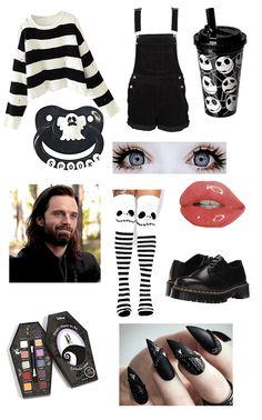 Pastel Goth Fashion, Kawaii Fashion, Emo Fashion, Gothic Fashion, Fashion Outfits, Cute Emo Outfits, Other Outfits, Anime Outfits, Fall Outfits