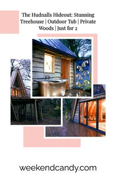 This treehouse for 2 in the Wye Valley will take your breath away. Quiet, secluded and perfect for a romantic break. Romantic Weekends Away, Romantic Weekend Getaways, Outdoor Tub, Outdoor Baths, Weekend Packing List, Weekend Trips, Hotels And Resorts, Best Hotels, Forest Sounds