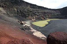 Farbenpracht am Lago Verde bei El Golfo