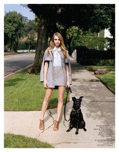 Cara Delevingne for Vogue China February 2013