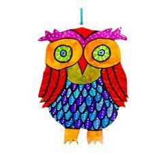 Owl Wall hanging, owl decor, owl mobile, owl wall decor, owl wall decoration, owl art , owl wall art,owl decoration ,