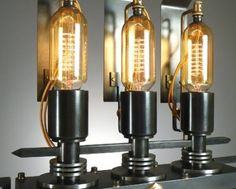 6 Motorcycle Industrial Table Lamps, Only for Bikers