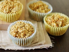 Gingered Carrot Millet Muffins by Good Things Grow
