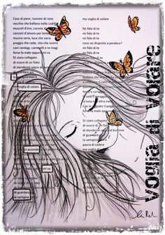 L'entusiasmo fa scuola: Poesia e Caviardage Old Book Art, Book Page Art, Poetry Art, Writing Poetry, Found Poetry, Joy Art, Blackout Poetry, Dictionary Art, Bible Art