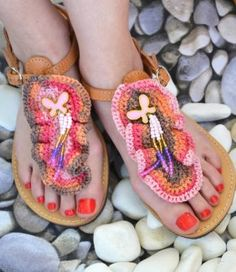 Flip Flops, Handmade, Shoes, Women, Fashion, Moda, Hand Made, Zapatos, Shoes Outlet