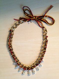 Lila&Sirena: DIY   Statement Necklace