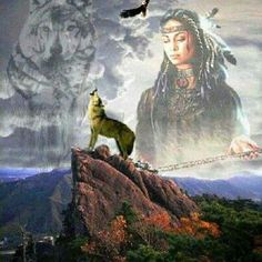 🖤Native American paintings🖤💙with-wolves-my fav💜beautiful🖤 Native American Wolf, Native American Paintings, Native American Wisdom, Native American Pictures, Native American Beauty, American Indian Art, Native American History, American Indians, Indian Pictures