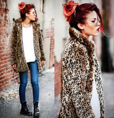 Lua P. - Leopard and Jeans