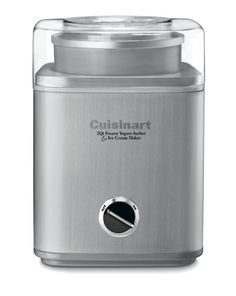 The Cuisinart Pure Indulgence  product can automatically make frozen yogurt, ice cream or sorbet. Model number ICE-30BC (a Best Seller) can make frozen yogurt, ice cream or sorbet in less than half an hour.