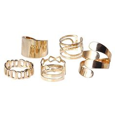 GET $50 NOW | Join RoseGal: Get YOUR $50 NOW!http://www.rosegal.com/rings/a-suit-of-vintage-hollow-out-infinite-rings-for-women-458984.html?seid=7805420rg458984