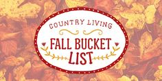 The 35 Most Quintessential Fall Activities  - CountryLiving.com