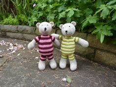 Tutti bears free pattern. SO cute, thanks so for writing pattern xox.