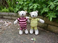 Tutti bears free pattern. SO cute, thanks so for writing pattern xox.