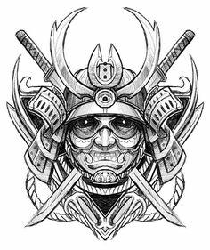 Resultado de imagen para samurai Drawings