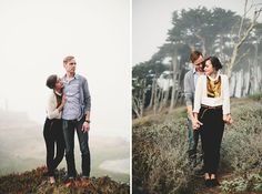 Just like sort of the artsiness of these shots.  The poses.  The foggy air.