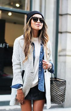 Street Style Layering Sincerely Jules #Women #Fashion