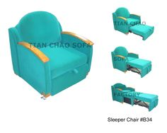 Beau Sleeper Chair  Ingenious