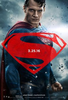 """""""I welcome you into my dream"""" - Henry Cavill (Superman), Ben Affleck (Batman), & Gal Gadot (Wonder Woman) have just released three phenomenal character posters for Zack Snyder's upcoming Batman v. Superman: Dawn Of Justice. Come check them out! Batman Vs Superman Poster, Fotos Do Superman, Superman Photos, Superman Characters, Superman News, Superman Dawn Of Justice, Superman Movies, Dc Movies, Superman Actors"""