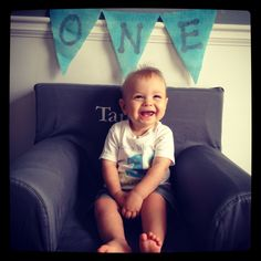 First birthday party picture