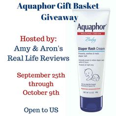 How do you take care of babies? Do you compromise on baby products? For your baby's health & beauty, we're giving away Aquaphor Gift Basket to 1 winner!