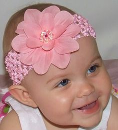 Claribel Baby Flower Headband...would look so cute on my neice <3 #cantwaittomeether