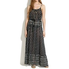 Cami Maxidress in Moroccan Floral - waist defined