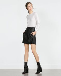 Image 1 of ROUND NECK SWEATER from Zara