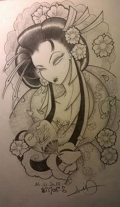 geisha by Sallysimon67