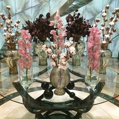 Beautiful flower decor in our lobby! Photo by @nastyaflo  #hotel #flowers