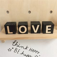 Wooden Letters Building Blocks - Georgie Scott Wooden Building Blocks, Building Toys, Nursery Accessories, Wooden Baby Toys, Childrens Gifts, Learning Letters, Wooden Letters, Flip Clock, Lettering