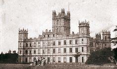 Highclere Castle (aka Downton!) in Hampshire, U.K., taken in 1857
