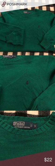 Men's cotton crewneck sweater Classic crewneck cotton sweater. Polo by Ralph Lauren Sweaters Crewneck