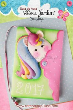 Libretas Fun Crafts For Kids, Diy And Crafts, Arts And Crafts, Unicorn Birthday, Unicorn Party, Foam Crafts, Paper Crafts, Magical Monster, Bullet Journal Essentials