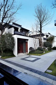 Chinese style villa in Suzhou Chinese Buildings, Ancient Chinese Architecture, China Architecture, Modern Architecture House, Interior Architecture, Chinese Courtyard, Chinese Garden, Suzhou, Chinese Design
