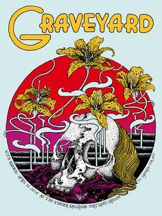 Graveyard / Portland 2014 / Screen printed edition of 100