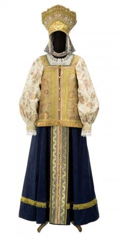 World of Ethno Traditional Fashion, Traditional Dresses, Russian Traditional Dress, Costume Russe, Russian Culture, Court Dresses, Ethnic Outfits, Russian Fashion, Russian Beauty