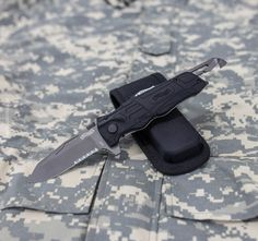 Walther Rescue Pro black, folding knife