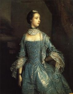 Mrs. Francis Beckford by Reynolds, 1756