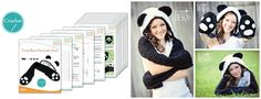 Panda Hood with Scarf and Bear Paws Crochet Pattern PDF By IraRott