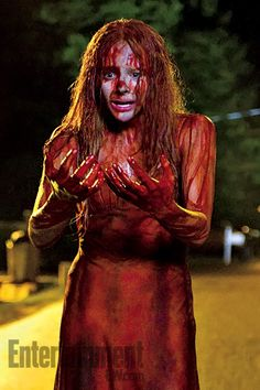 I can't wait to see.  The first Carrie scared the crap out of me...my mom was very religious and depressed, nothing like the mom on Carrie but I could see if it had been more intense I could see the insanity of it all.