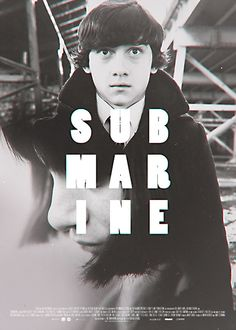 "Fan-made poster for film ""Submarine"""