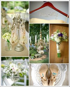 Vintage DIY Wedding- shoes, bouquet, and details