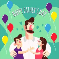 Happy Father's Day Celebrate Background