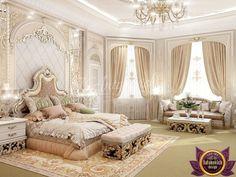 Populent master bedroom design of Katrina Antonovich, Katrina Antonovich