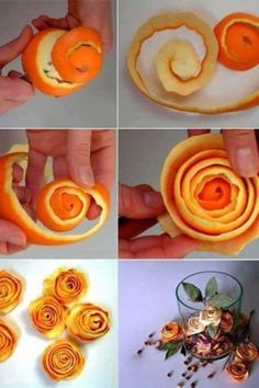 Never thought of using orange peels...Until now!