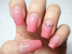 click through for tutorial (in my korean blog)  pink syrup nailart