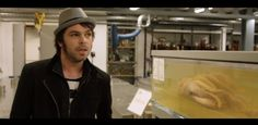 Watch - we hung out with Gaz Coombes and a massive squid at the Natural History Museum http://nmem.ag/HHtTJ